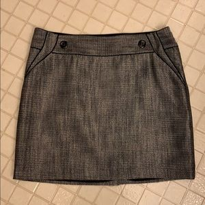 The Limited Gray Mini Skirt